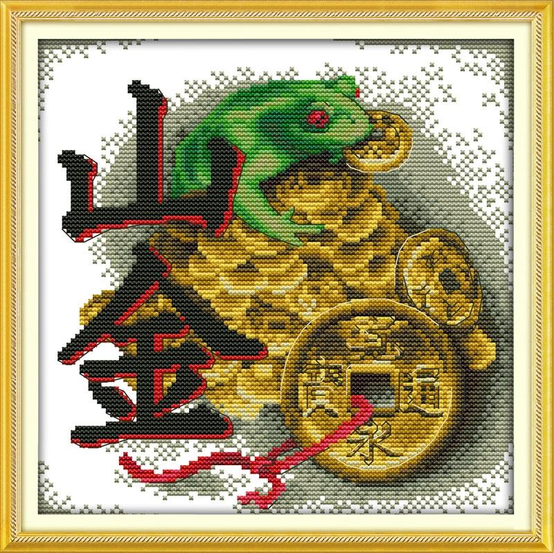 Схема лягушка вышивка 012