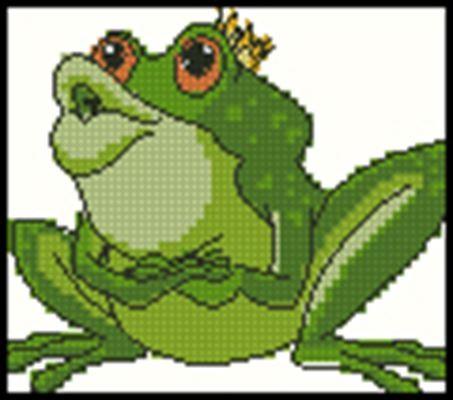 Схема лягушка вышивка 026
