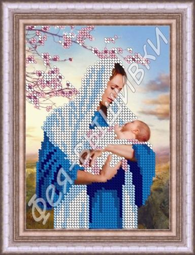 Схемы вышивки мать и дитя 005