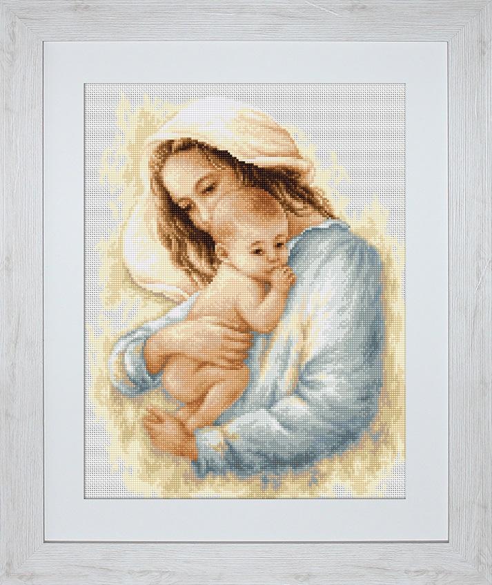 Схемы вышивки мать и дитя 012