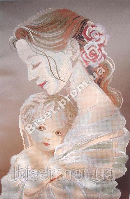 Схемы вышивки мать и дитя 026