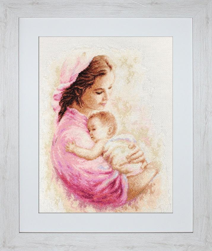 Схемы вышивки мать и дитя 029