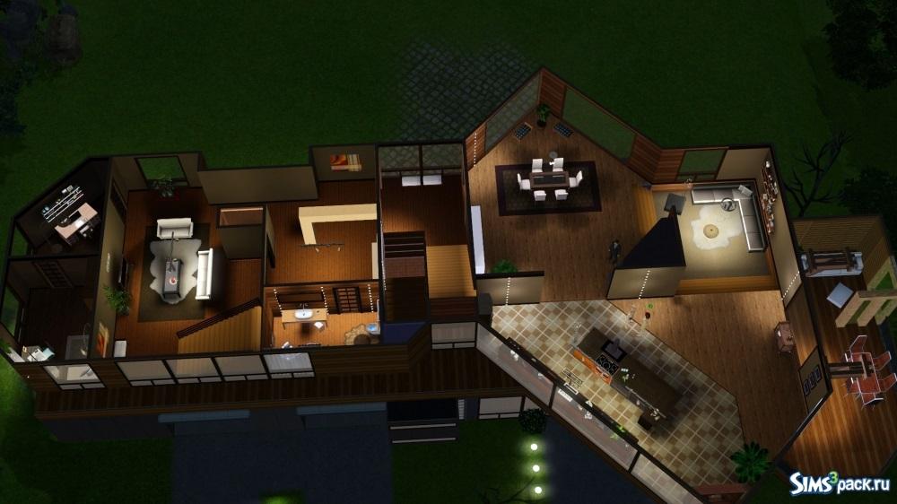 Схемы домов в симс фриплей 008