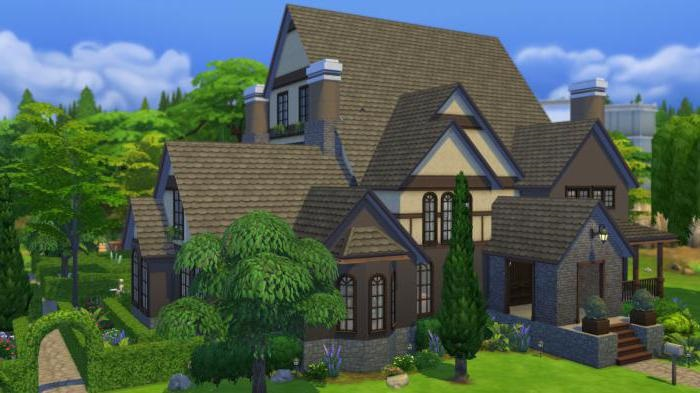 Схемы домов в симс фриплей 012