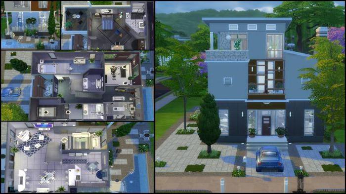 Схемы домов в симс фриплей 023