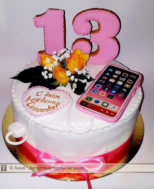 Торты для девочек подростков 012