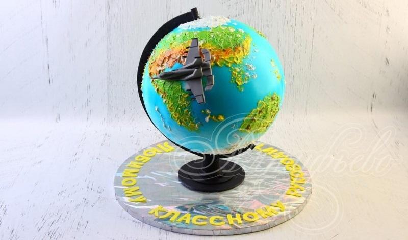 Торт в виде планеты 002