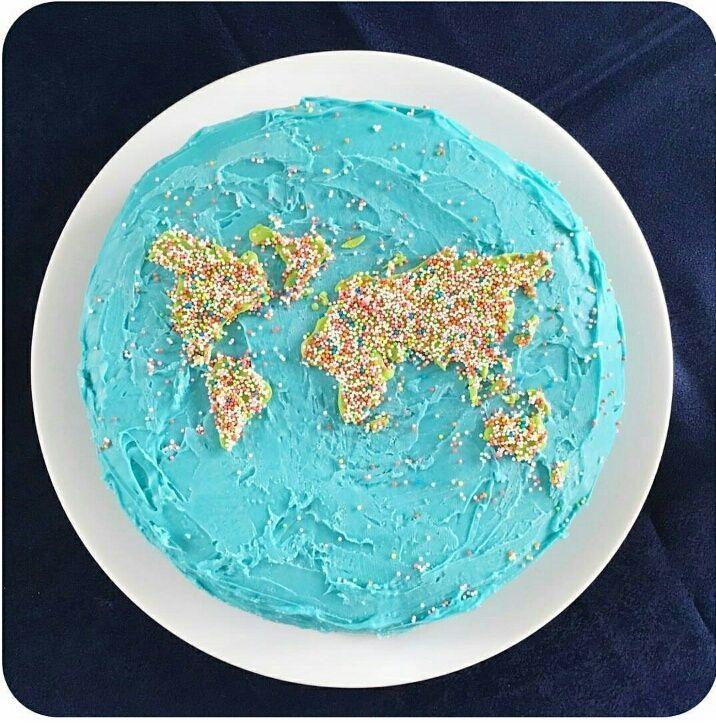 Торт в виде планеты 006