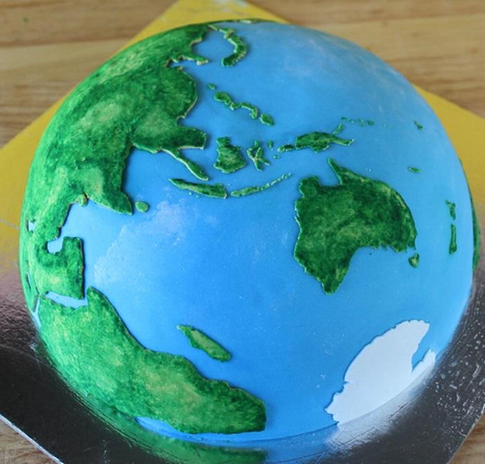 Торт в виде планеты 008