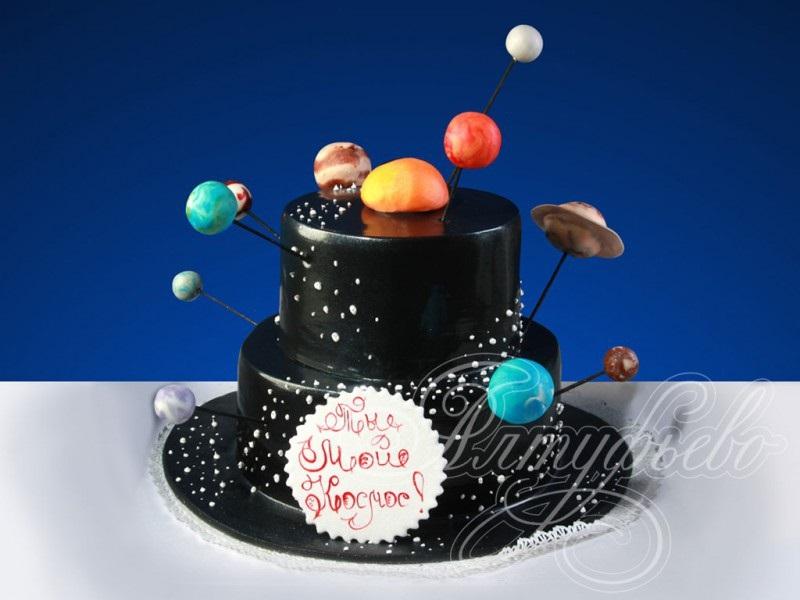 Торт в виде планеты 021