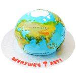 Торт в виде планеты — красивый и вкусный