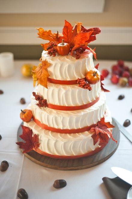 Торт в стиле осень 002