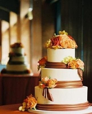 Торт в стиле осень 006