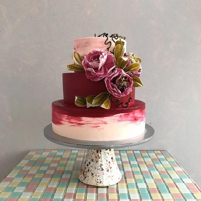 Торт в стиле осень 008