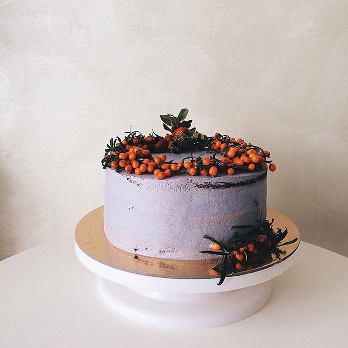 Торт в стиле осень 010