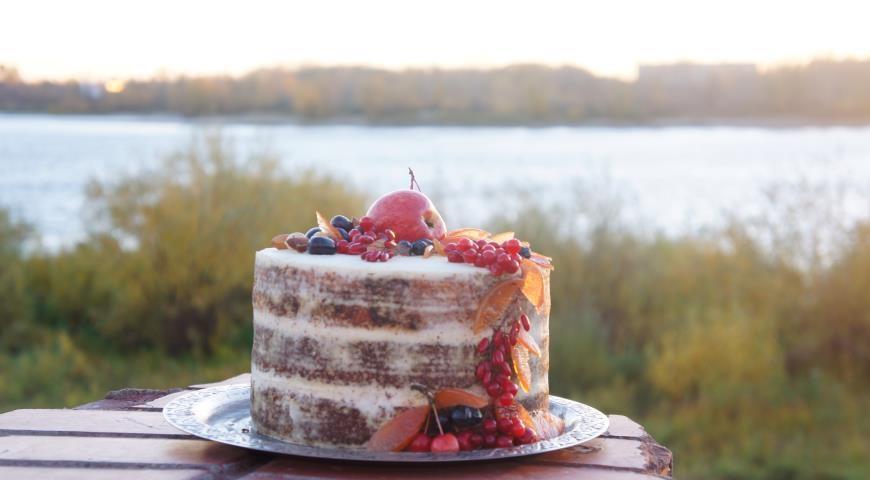 Торт в стиле осень 014