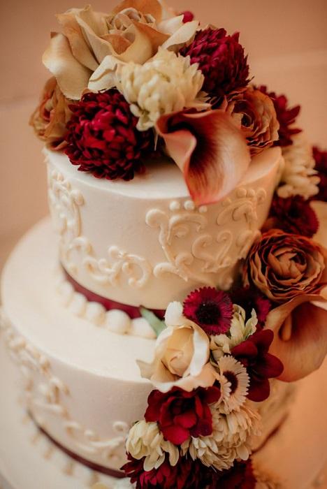 Торт в стиле осень 015