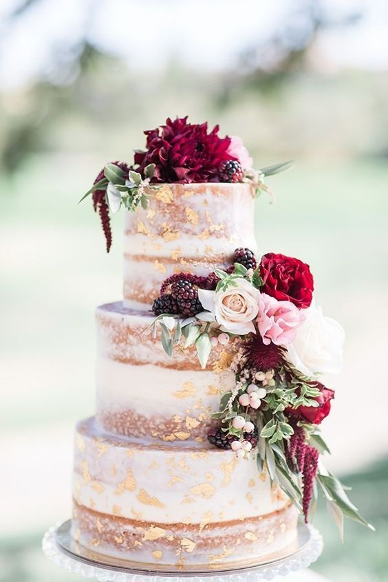 Торт в стиле осень 017