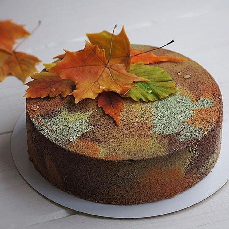 Торт в стиле осень 019