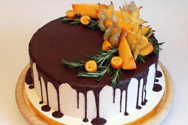 Торт в стиле осень 021