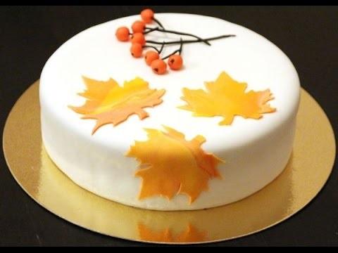 Торт в стиле осень 022