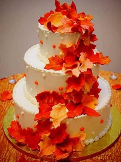 Торт в стиле осень 024