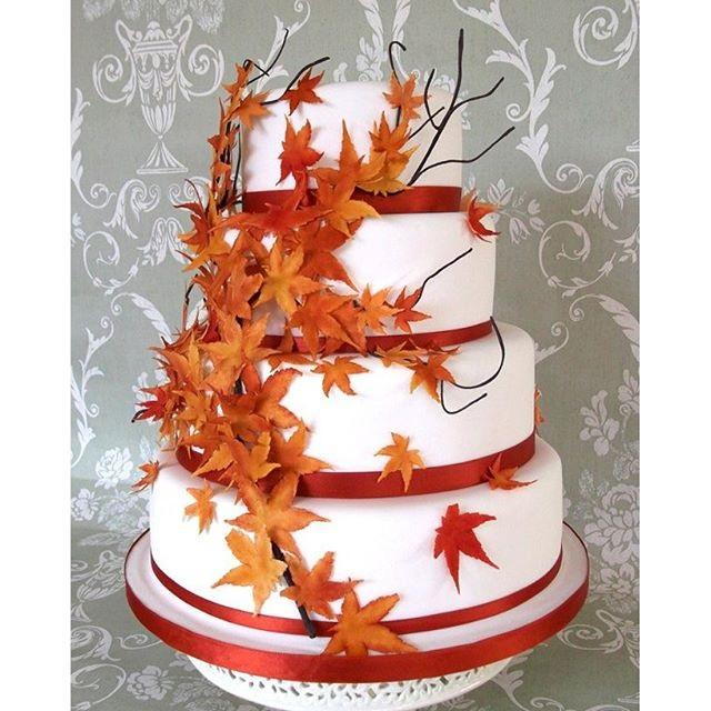 Торт в стиле осень 026