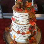 Торт в стиле осень — красивый и вкусный