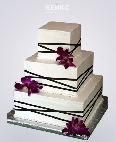 Торт квадратный для мужчины 014