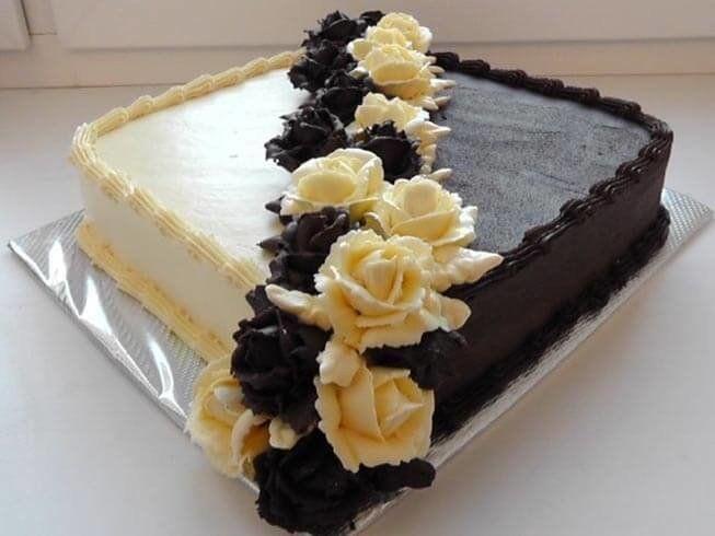 Торт квадратный для мужчины 022
