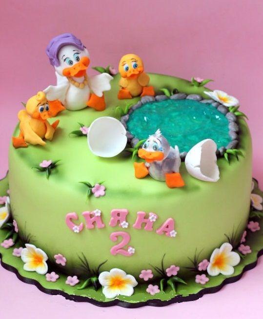 Торт на тему семья 006