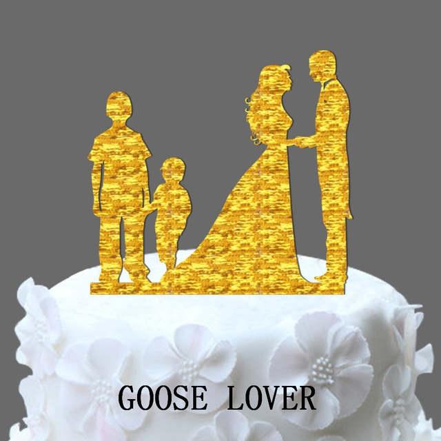 Торт на тему семья 027