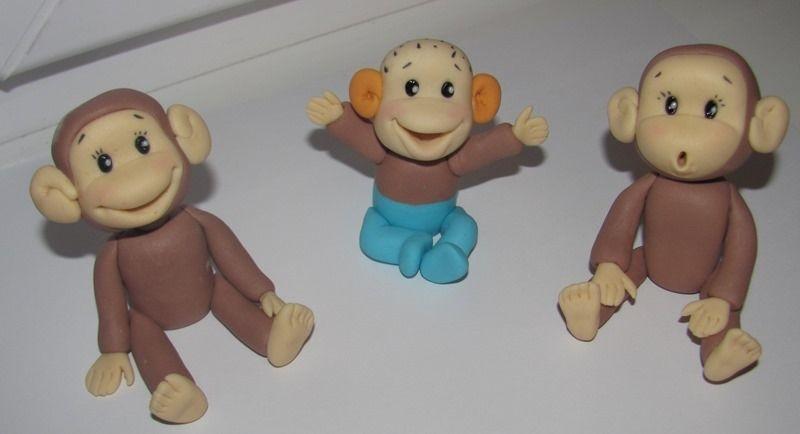 Торт обезьянки из мультика 005