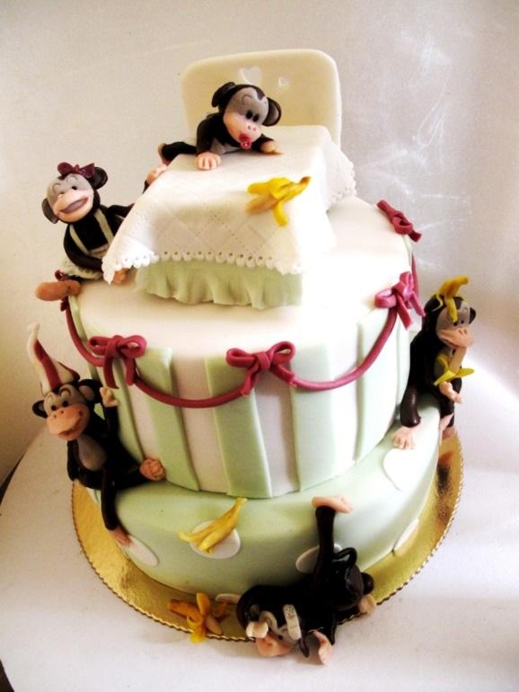 Торт обезьянки из мультика 015