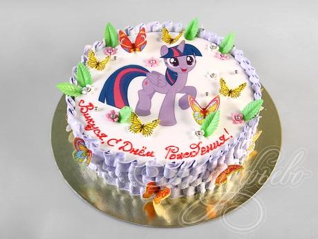 Фото торт с лошадками 003