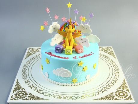 Фото торт с лошадками 023