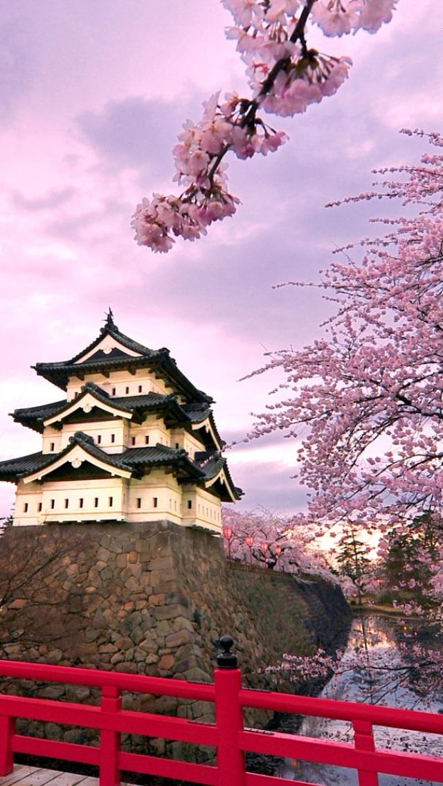 Япония обои на айфон 018