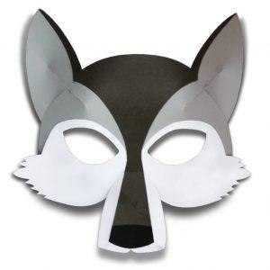 3d маски из бумаги для детей и взрослых 030
