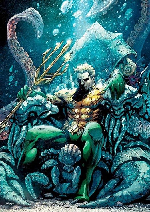 Aquaman art 001