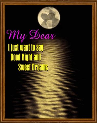 Good night my dear открытки 004