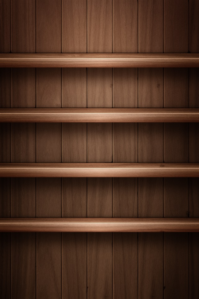 Iphone 5s wallpapers shelves 002