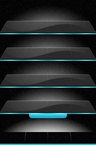 Iphone 5s wallpapers shelves 003