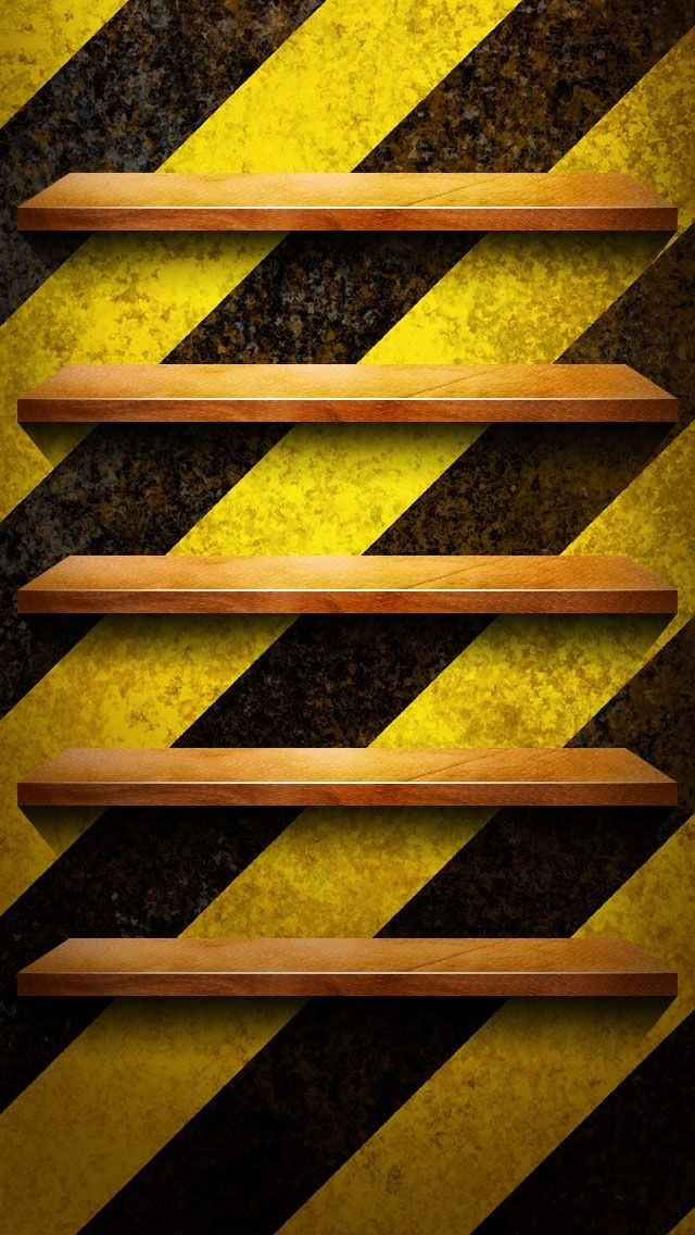 Iphone 5s wallpapers shelves 011