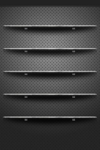 Iphone 5s wallpapers shelves 013