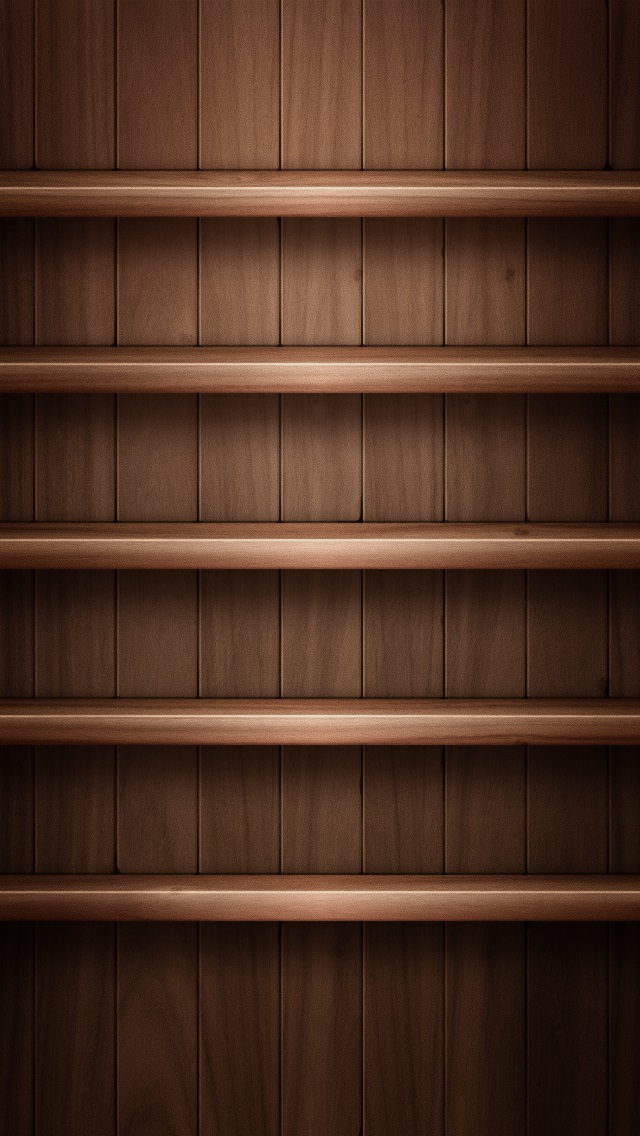 Iphone 5s wallpapers shelves 014