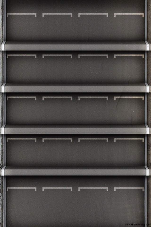 Iphone 5s wallpapers shelves 017