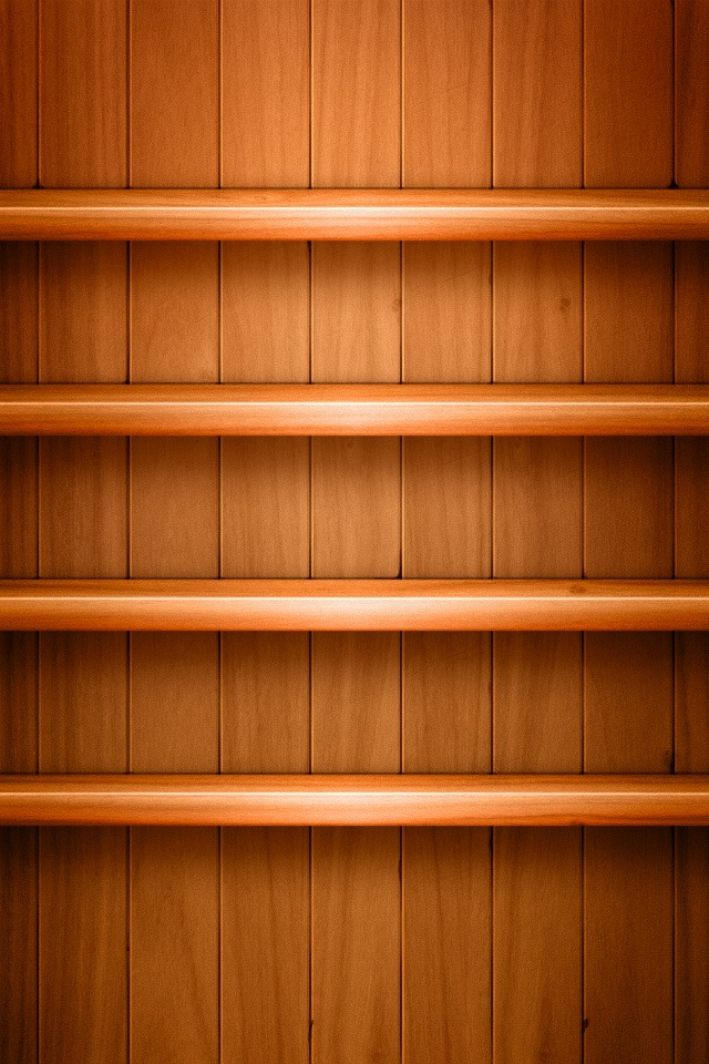 Iphone 5s wallpapers shelves 020