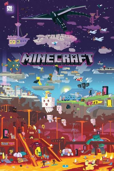 Minecraft плакат 002