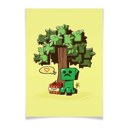 Minecraft плакат 003