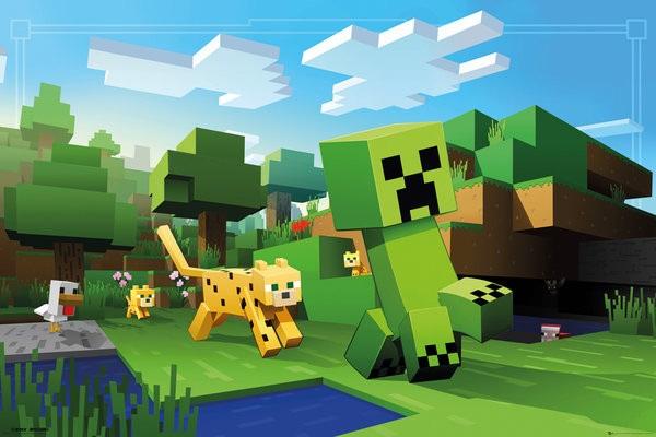 Minecraft плакат 004